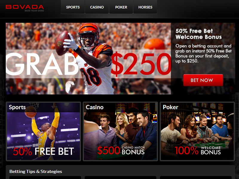 bovada casino bonus rules